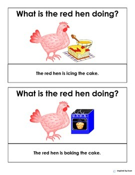 """""""The Red Hen"""" Tasks for Autism"""