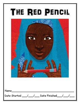 The Red Pencil independent reading packet