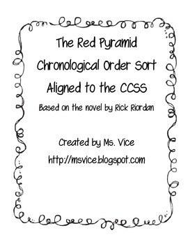 The Red Pyramid Chronological Order Sort
