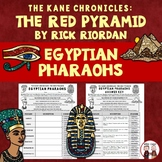 The Red Pyramid Egyptian Pharaohs Activity
