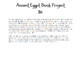 The Red Pyramid Mid/Final Book Test and Book Project