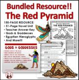 The Red Pyramid Novel Unit Activities Bundle