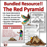 The Red Pyramid Novel Unit Activities Bundle