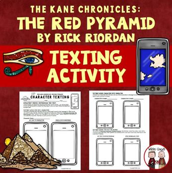 The Red Pyramid Text Messaging Activity