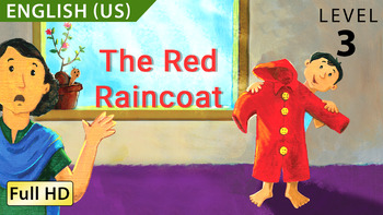 The Red Raincoat: Learn English (US) with subtitles - Story for Children