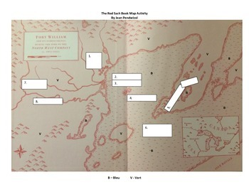 The Red Sash Map and Major Forts of Saskatchewan Maps