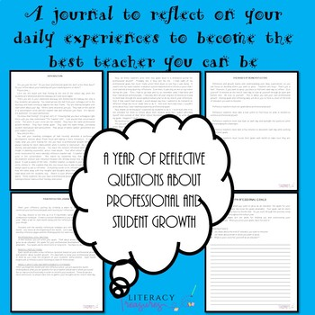 The Reflective Teacher--A Yearlong Guidebook