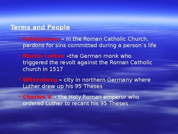 The Reformation: Christianity in Conflict