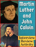 The Reformation Interview Review Activity