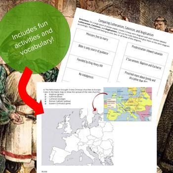 The Reformation - Lesson Bundle
