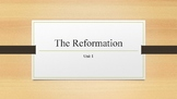 The Reformation PowerPoint, Guided Notes, and Completed Notes
