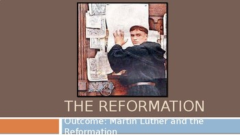 Martin Luther and The Reformation PowerPoint Lecture