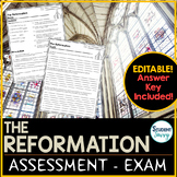 The Reformation Test - Exam - Assessment