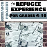 The Refugee Experience: Mini Research Project for Grades 6-10