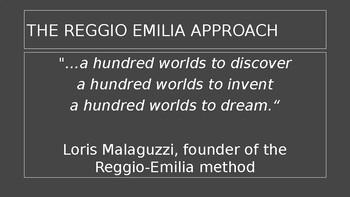 The Reggio Emilia Approach