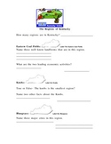 The Regions of Kentucky Worksheet/Study Guide