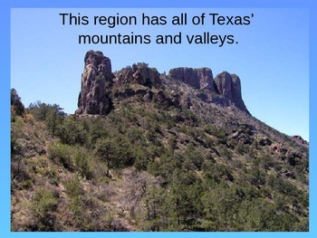 The Regions of Texas Virtual Tour
