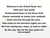 The Regions of Texas Virtual Tour