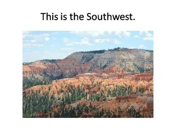 The Regions of the United States:  VA SOL 2.4c