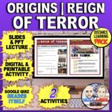 The Reign of Terror- Origins and Legislation Bundle