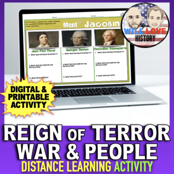 The Reign of Terror- War and Revolutionary Figures