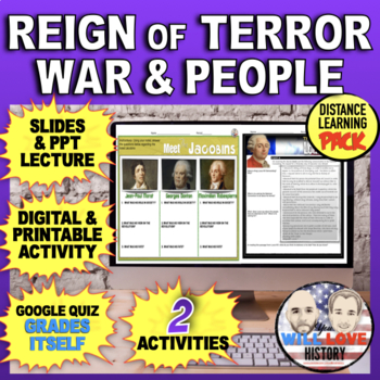 The Reign of Terror- War and Revolutionary Figures Bundle