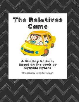 The Relatives Came:  A Response to Literature Narrative Writing Activity