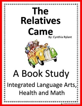 The Relatives Came - Book Study and Integrated Math and He