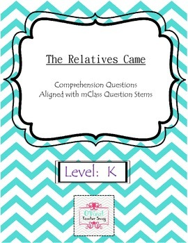 The Relatives Came-Comprehension Questions