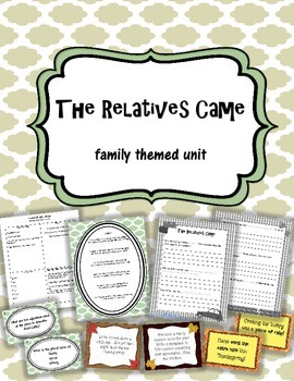 The Relatives Came Language Arts Unit ~ poetry, idioms, grammar, writing!