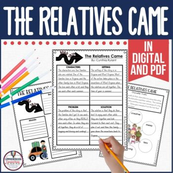 The Relatives Came is a great choice for connecting to childhood memories and family. It's a great mentor text for teaching cause/effect and story structure as well as narrative writing. Check out this post for more information.