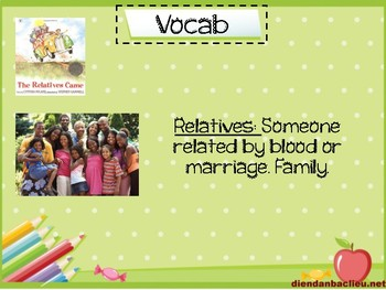 The Relatives Came Interactive Read Aloud PPT