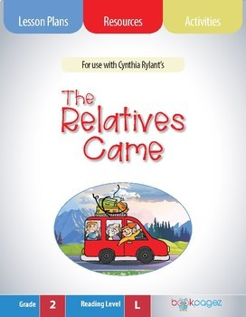 The Relatives Came Lesson Plans & Activities Package, Second Grade (CCSS)