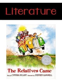The Relatives Came {Realistic Fiction Mini Unit}