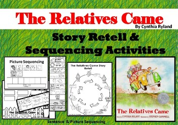 The Relatives Came Story Sequencing Activities {Picture & Sentence Sequencing}