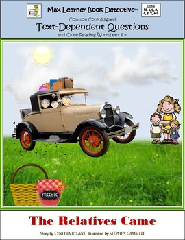 The Relatives Came: Text-Dependent Questions and Close Reading Worksheet