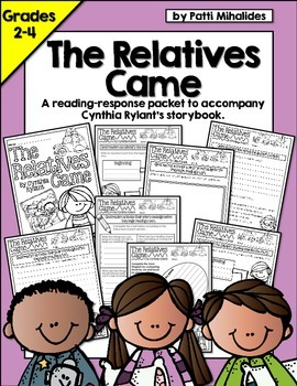 The Relatives Came by Cynthia Rylant: Reading Response Act