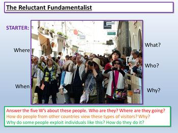 The Reluctant Fundamentalist - English Language Paper 1 AQA