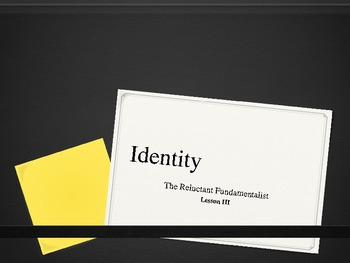 The Reluctant Fundamentalist - Identity