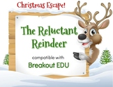 The Reluctant Reindeer Christmas Breakout / Escape Game for Primary Grades