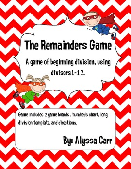 The Remainders Game