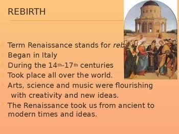 The Renaissance Art Movement Powerpoint