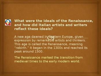 AP The Renaissance: Boccaccio Describes the Black Death
