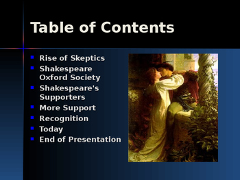 The Renaissance - Key Figures - William Shakespeare