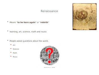 The Renaissance Powerpoint