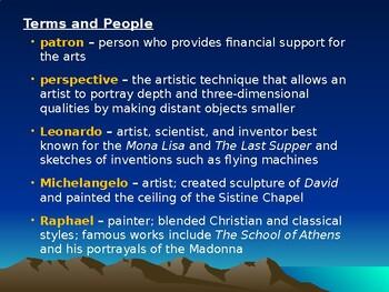 The Renaissance: Renaissance Art