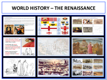 The Renaissance & Scientific Revolution - Revised Units