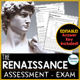The Renaissance Test - Exam - Assessment