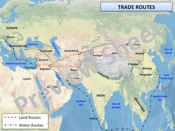 The Renaissance - Trade with Asia