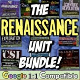Renaissance Unit Bundle! 10 resources for Renaissance, Reformation, Explorers!